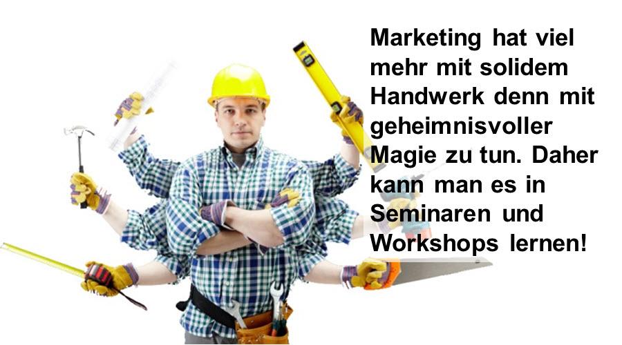 Marketing-Seminare & Marketing-Workshops - für Stuttgart und Umgebung