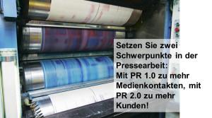 Online-PR / PR 2.0 als wichtige Bausteine erfolgreicher Pressearbeit
